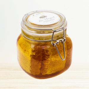1kg Raw Honeycomb jar