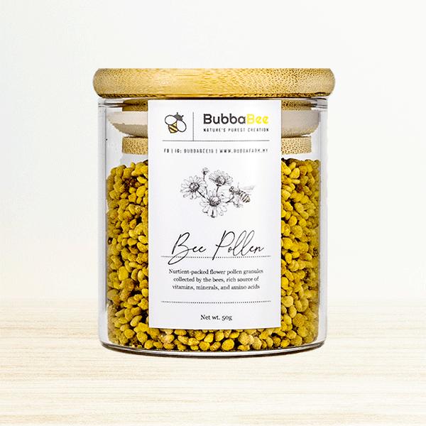 50g Bee Pollen jar