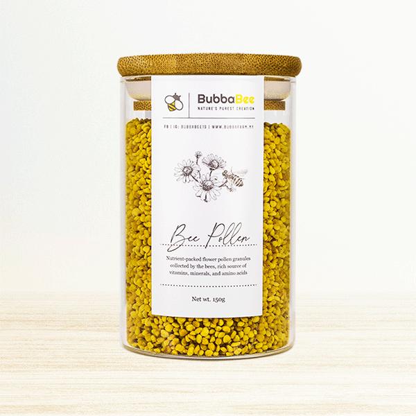 150g Bee Pollen jar